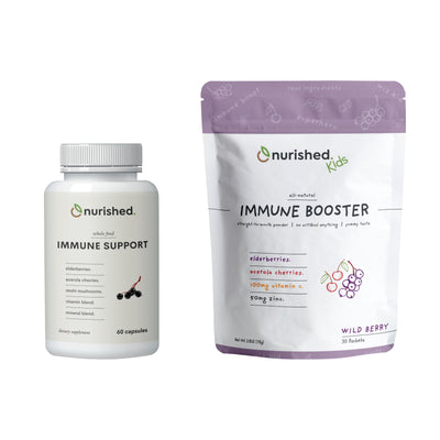 Immune Bundle - Nurished Whole Food Health for Adults & Kids