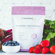 Superfood + Multivitamin - Nurished Whole Food Health for Adults & Kids