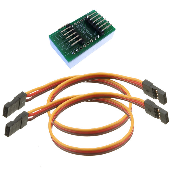 Bastens QuadSteer 4 wheel steering DIY kit control module works with either 2Ch or 3Ch transmitters