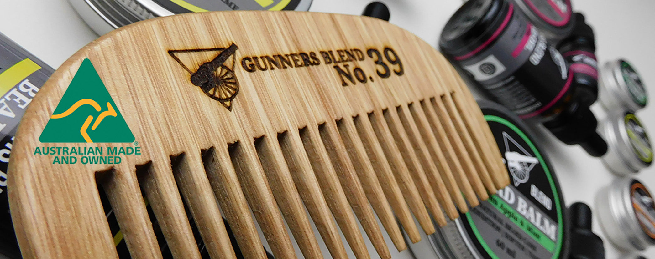 Gunners Blend Barber Shop Supplies