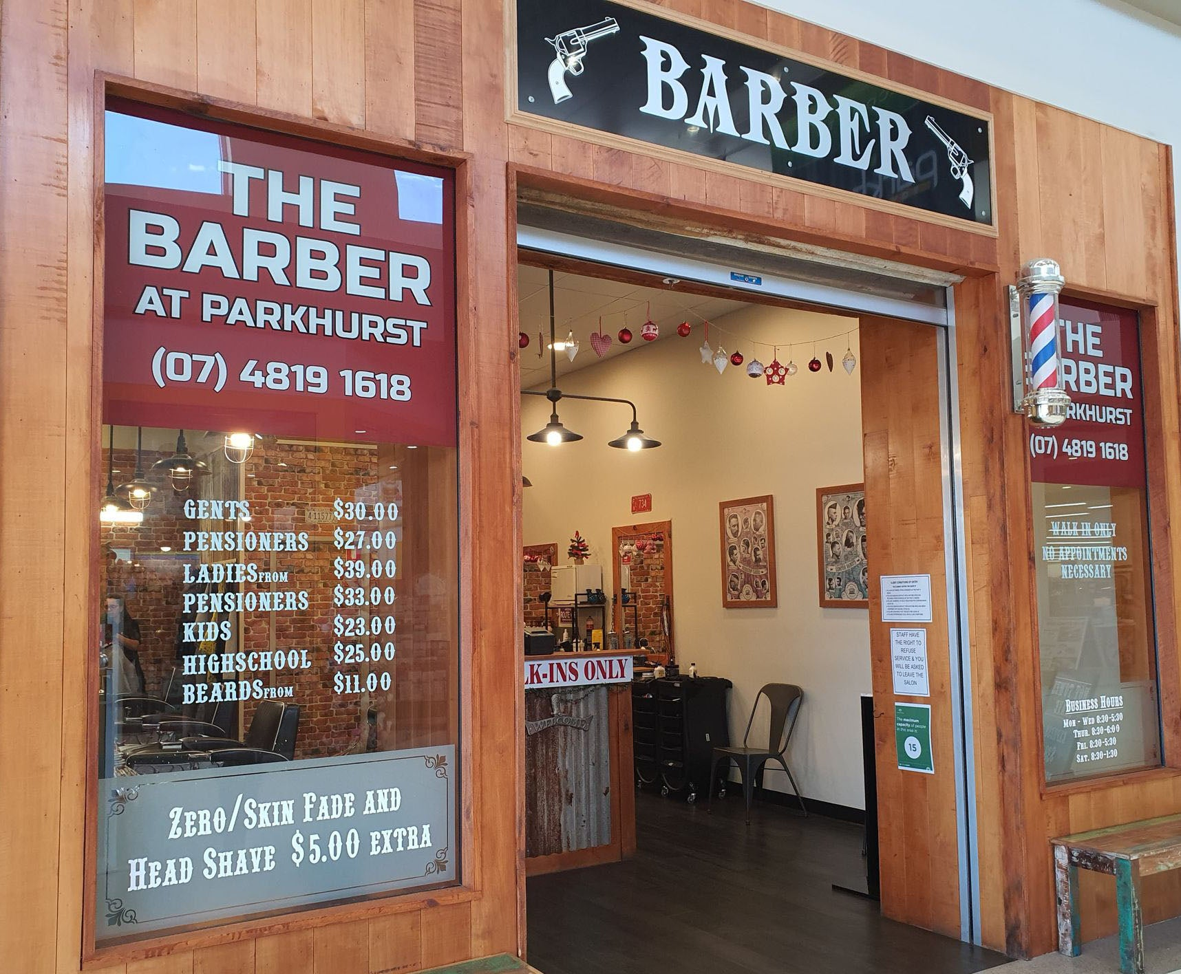 The Barber at Parkhurst