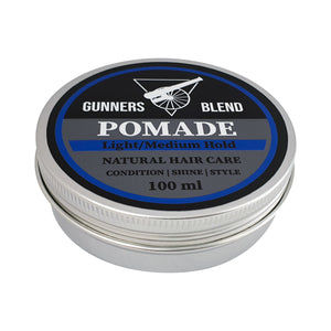 Pomade - Light / Medium Hold 100ml - Gunners Blend