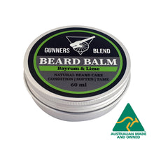 Load image into Gallery viewer, Bayrum & Lime Beard Balm 60ml Australian Made
