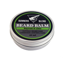 Load image into Gallery viewer, Bayrum & Lime 60ml Beard Balm - Gunners Blend - Made in Australia