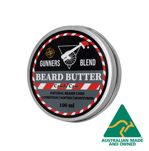 100ml Candy Cane Beard Butter - Christmas Edition - Gunners Blend