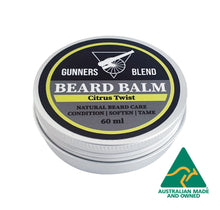 Load image into Gallery viewer, Citrus Twist Beard Balm 60ml Australian Made Gunners Blend