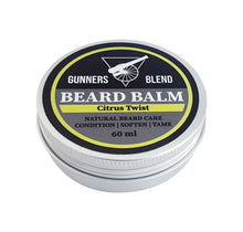 Load image into Gallery viewer, Citrus Twist 60ml Beard Balm - Gunners Blend - Made in Australia