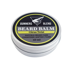 Citrus Twist 60ml Beard Balm - Gunners Blend - Made in Australia