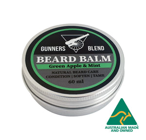Green Apple & Mint Beard Balm 60ml Australian Made