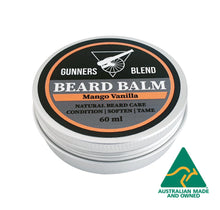 Load image into Gallery viewer, Mango Vanilla Beard Balm 60ml Australian Made Gunners Blend
