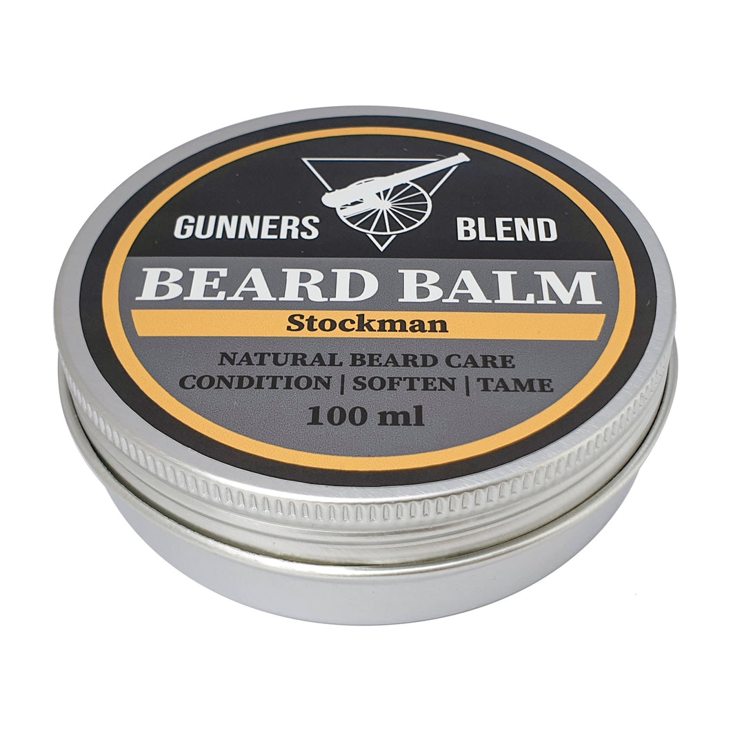 Stockman 100ml Beard Balm - Gunners Blend - Made in Australia