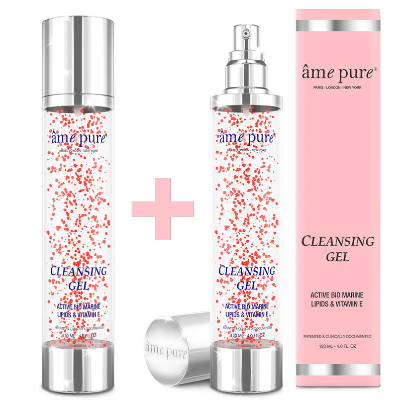 Cleansing Gel, ame pure, face clean, skincare
