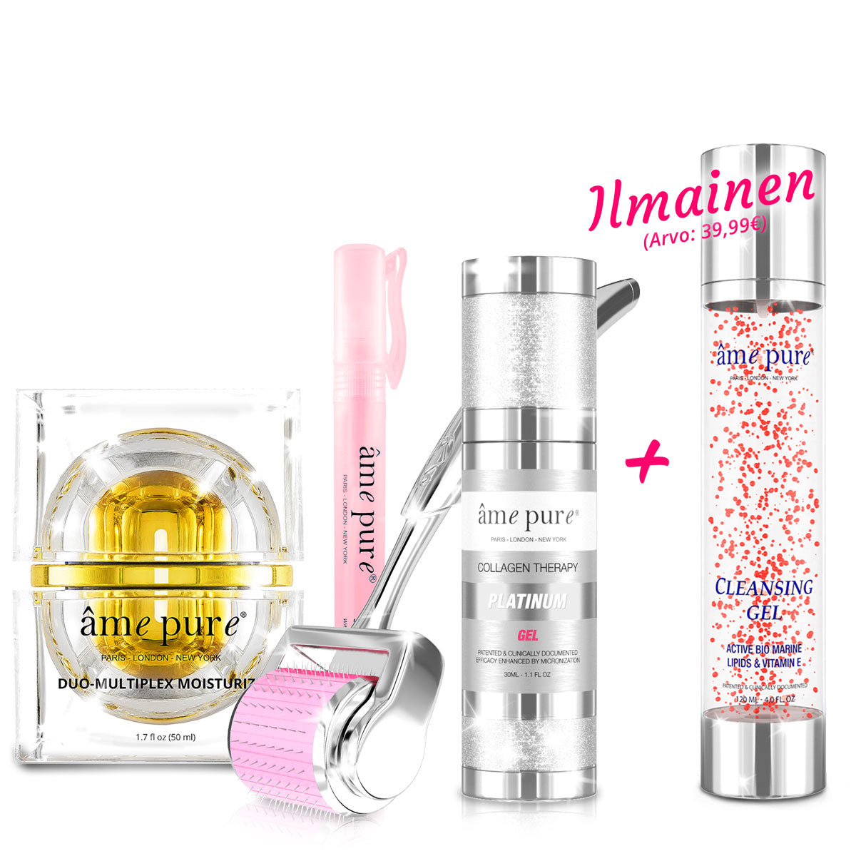 CIT Face Roller PLATINUM + Duo Multiplex + ILMAINEN Cleansing Gel