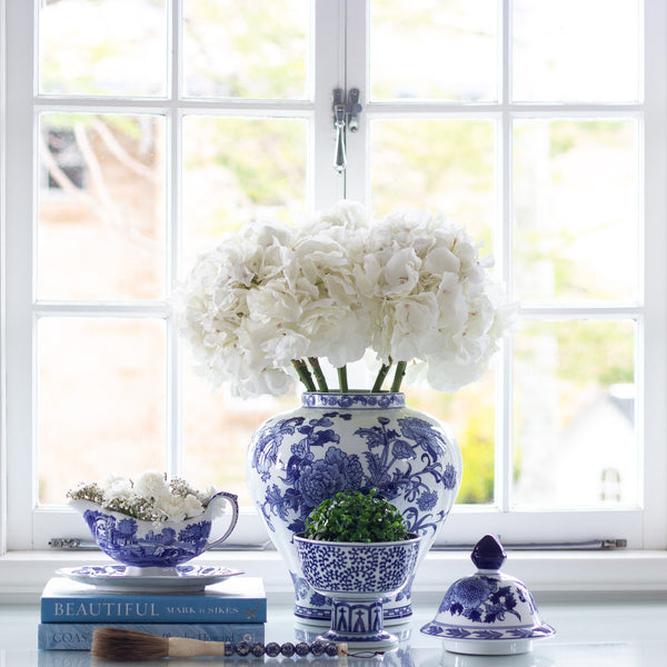 Hydrangea Lane Home Blue and White