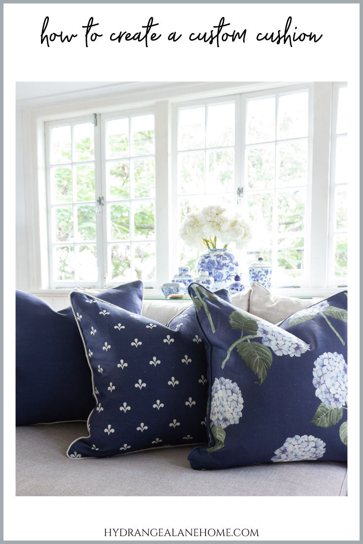 Create a custom cushion