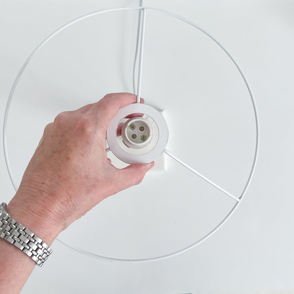 Lampshade washer size European fitting