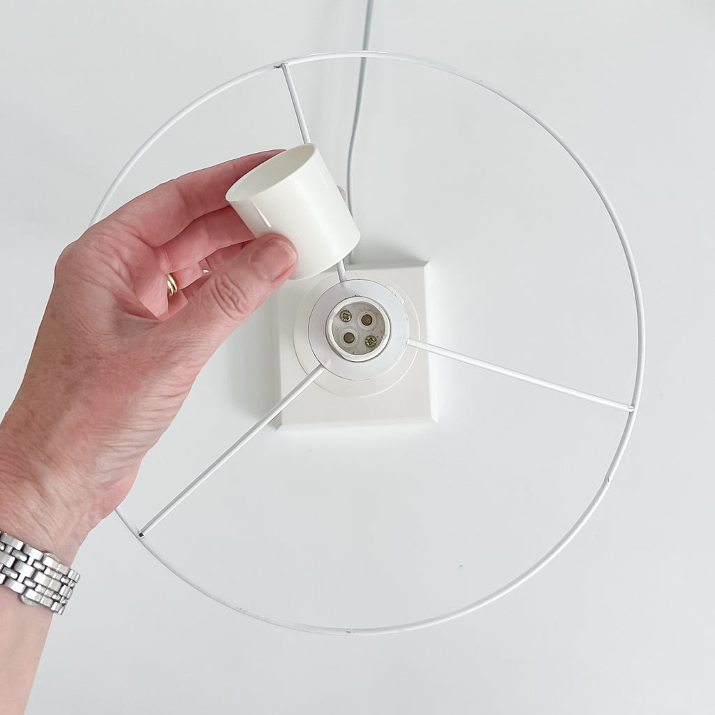 Lampshade ring size