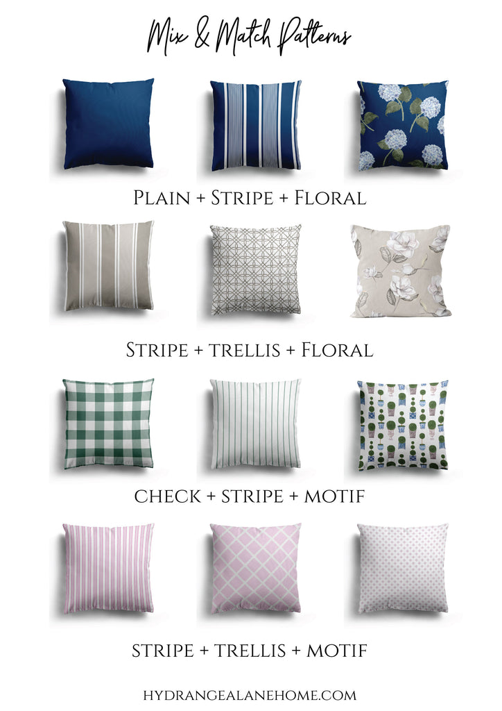 Mix and Match Pattern Combinations