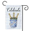 Celebrate Champagne Chinoiserie Garden Flag