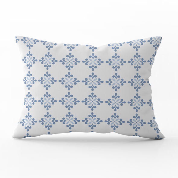 Amalfi Flower Rectangle Cushion