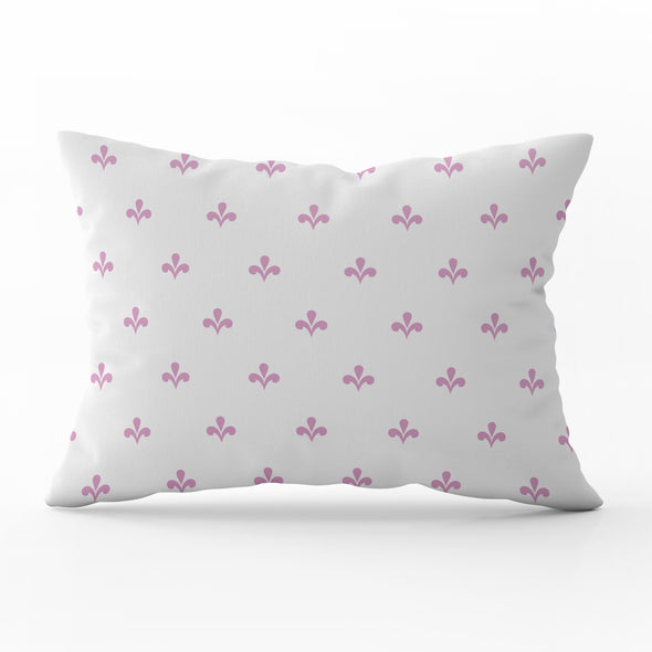 Amalfi motif pink rectangle cushion