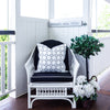 Amalfi grey cushion