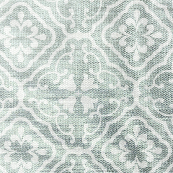 Amalfi Tulip Scroll fabric EauDeNil