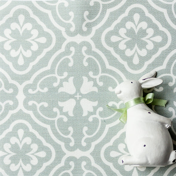Amalfi Trellis Fabric Green