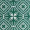 Amalfi tulip fabric leaf green