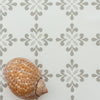 Amalfi Flower Fabric neutrals