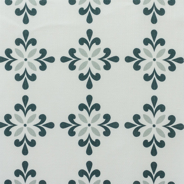 Amalfi Flower Fabric greens
