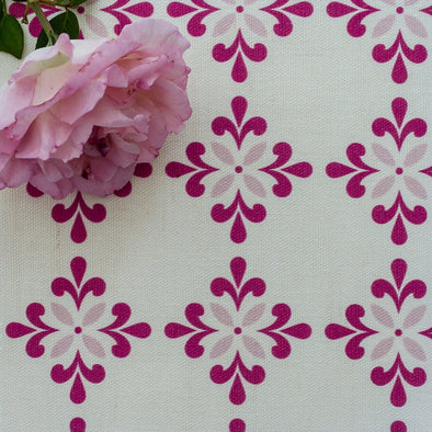 Amalfi Flower Fabric pinks