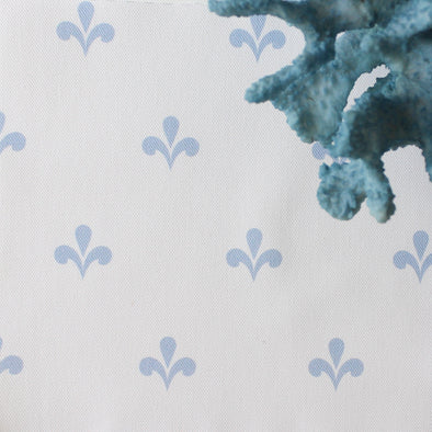 Amalfi Swish Fabric - Cornflower