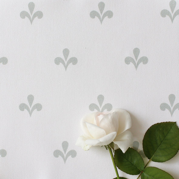 Amalfi Swish Fabric - Eau De Nil