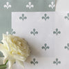 Amalfi Swish Fabric - Eucalyptus