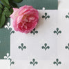 Amalfi Swish Reverse Fabric - Leaf
