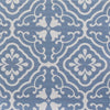 Amalfi Tulip Scroll Fabric - Breeze