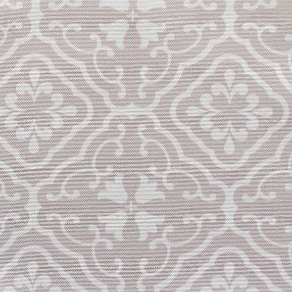 Amalfi Tulip Scroll Fabric - Linen