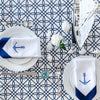 nautical theme table setting