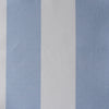 Awning Stripe cotton linen fabric in Cornflower blue