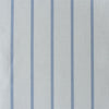 Breton Stripe cotton linen fabric in Cornflower blue