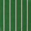 Breton Stripe cotton linen fabric in Emerald green