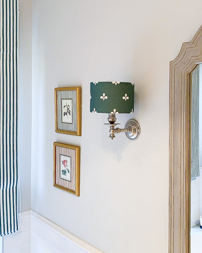 wall sconce drum shade