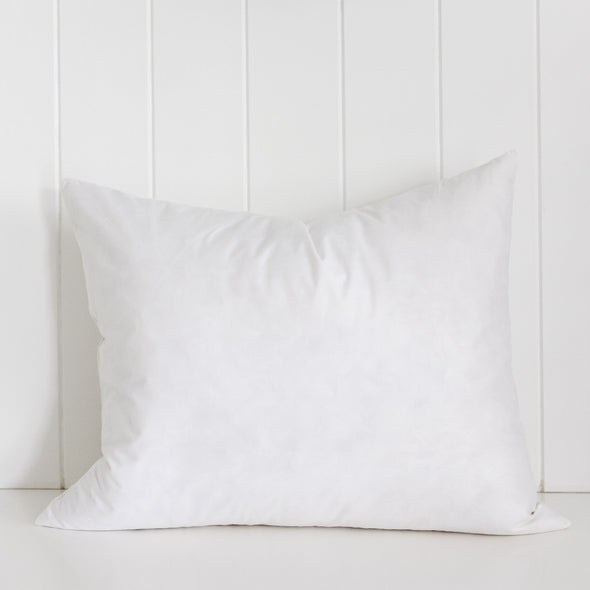 Feather cushion insert rectangle Melbourne