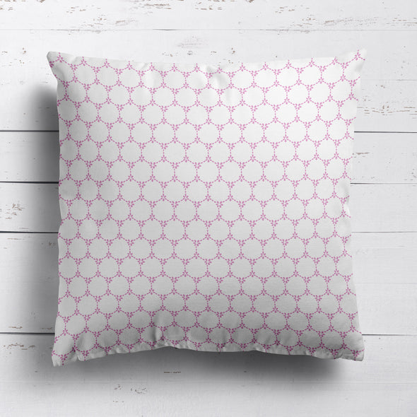 Daisy Chain pretty floral fabric pink