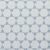 Daisy Chain pretty floral fabric mid blue