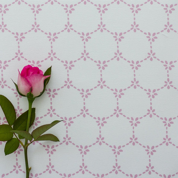 Daisy Chain pretty floral fabric tickled pink