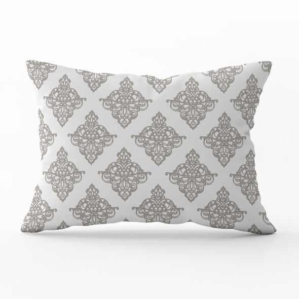 chateaux damask cushion
