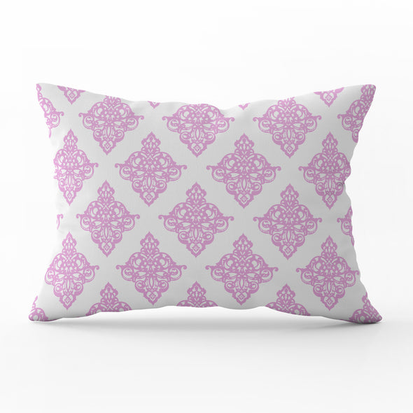 rectangle damask cushion