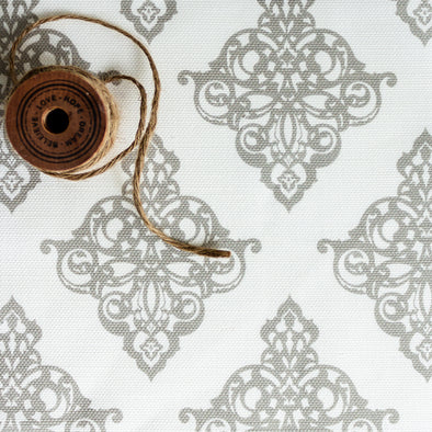 Damask Fabric Chateaux